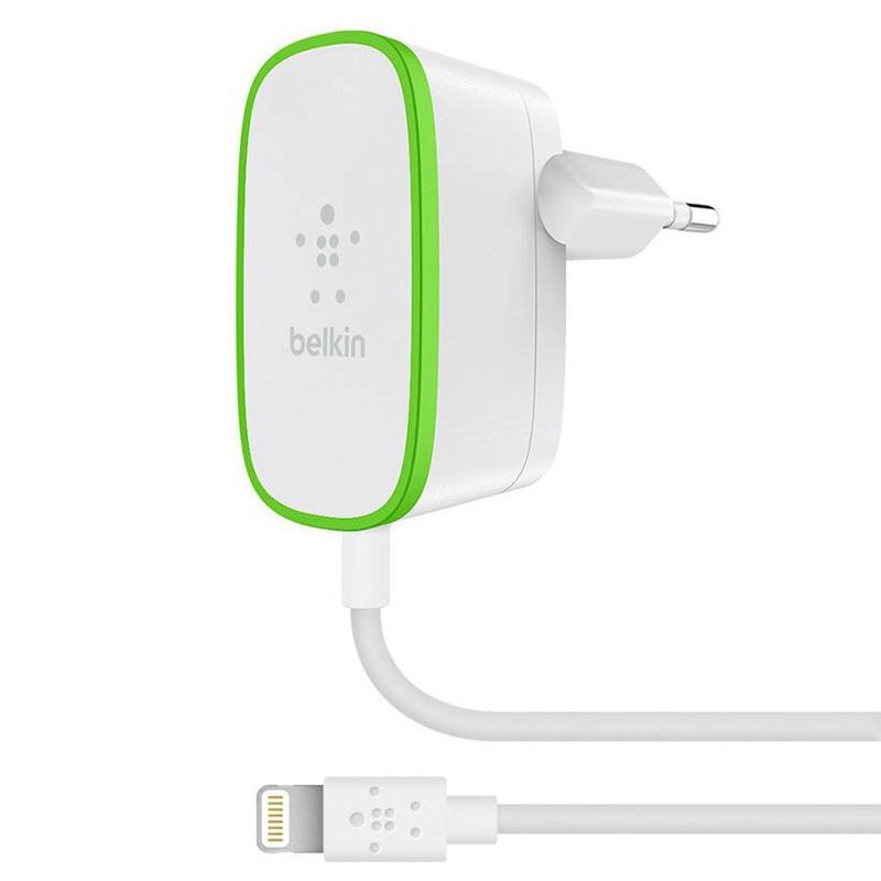 Belkin - Boost Up Lightning 2,4A Wandoplader White 01