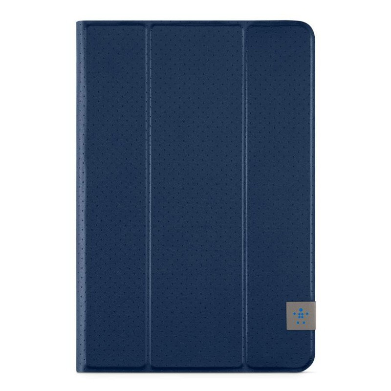Belkin Twin Stripe Folio iPad mini 4 Blue  - 1
