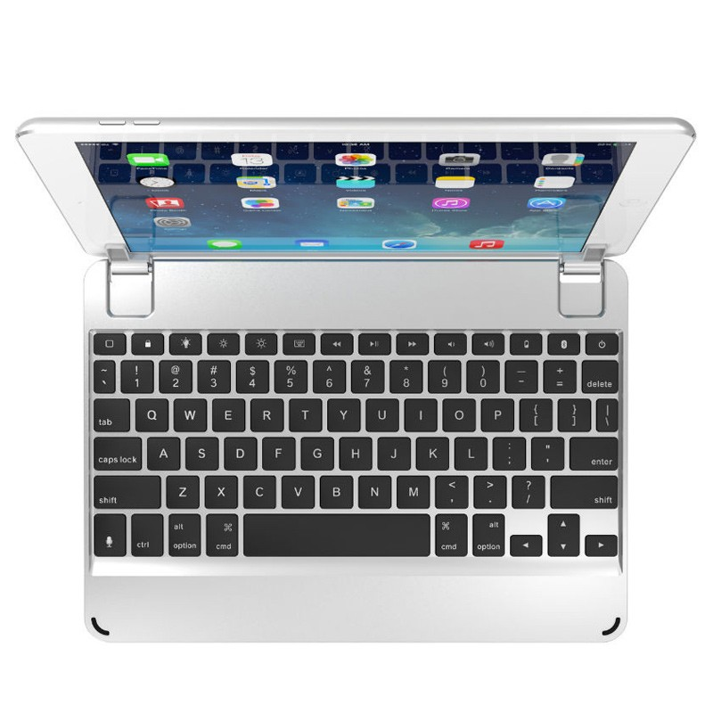 Brydge - Keyboard 9.7 iPad Air/Air 2/Pro 9.7 Silver 02