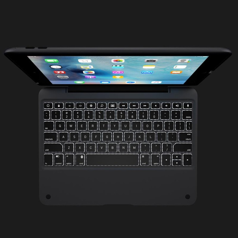 ClamCase - iPad Air 2 Keyboard Case Space Gray 06