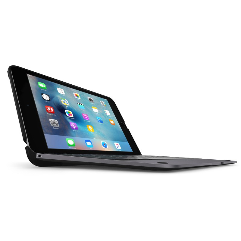ClamCase Pro Keyboard Case iPad mini 4 Black/Smoke - 1