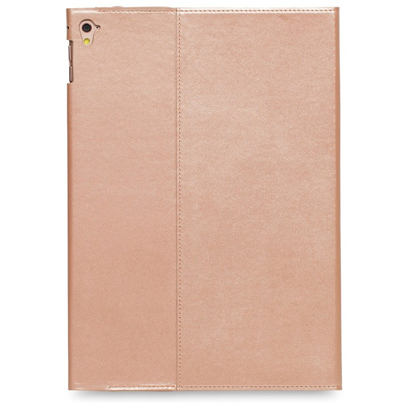 Knomo - Full Wrap Folio hoes voor iPad Pro 9,7 inch Rose Gold 06