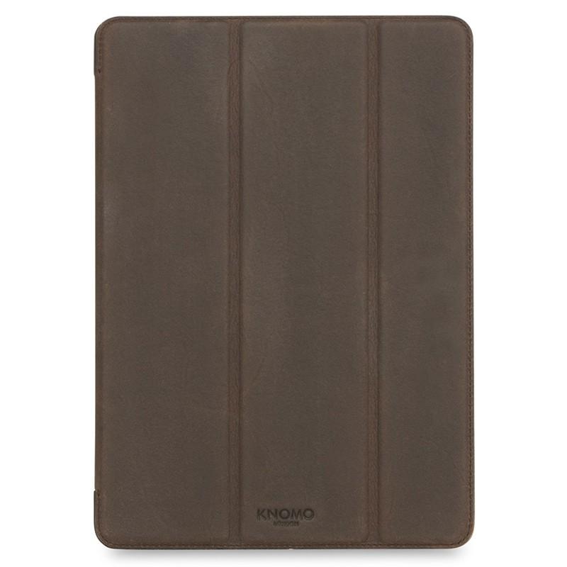 Knomo - Leather Folio iPad Pro 9,7 inch Brown 01