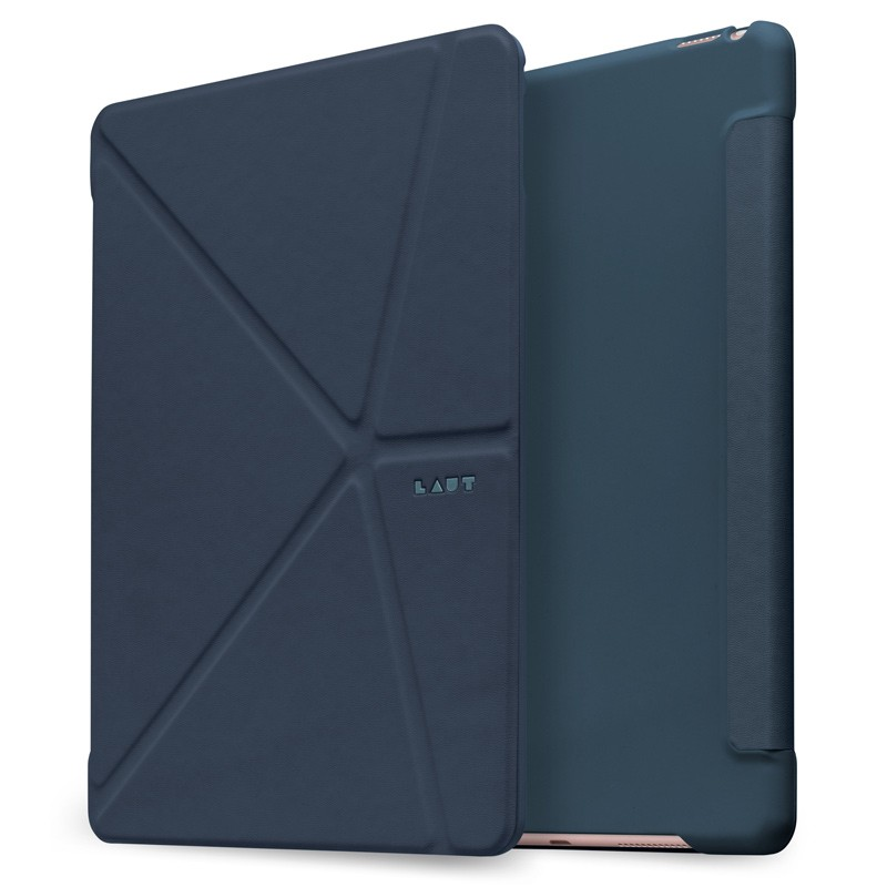 LAUT - Trifolio iPad 9,7 inch 2017 Blue 01