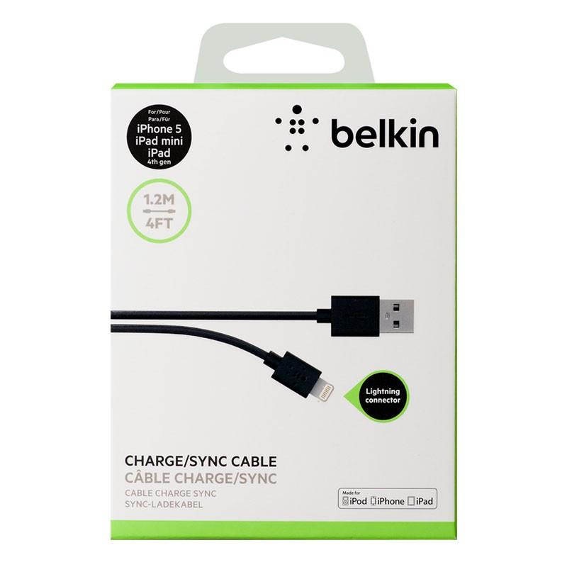 Belkin Lightning to USB kabel 1,2 meter black - 2