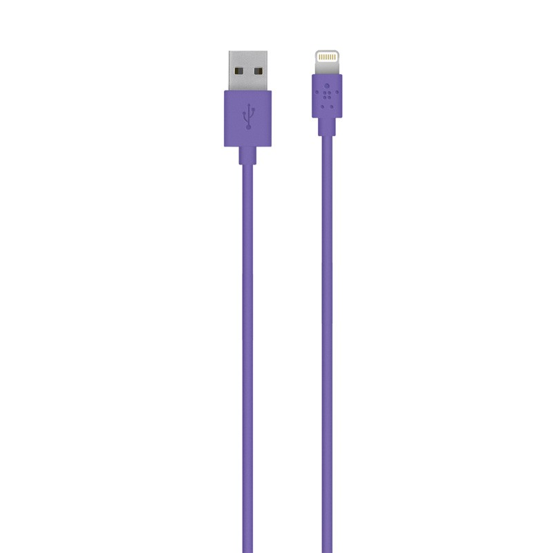 Belkin Lightning to USB kabel 1,2 meter purple - 1