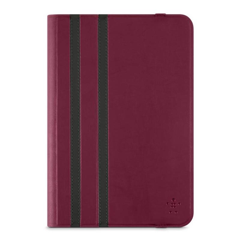 Belkin Twin Stripe Folio iPad mini 4 Maroon Red - 1