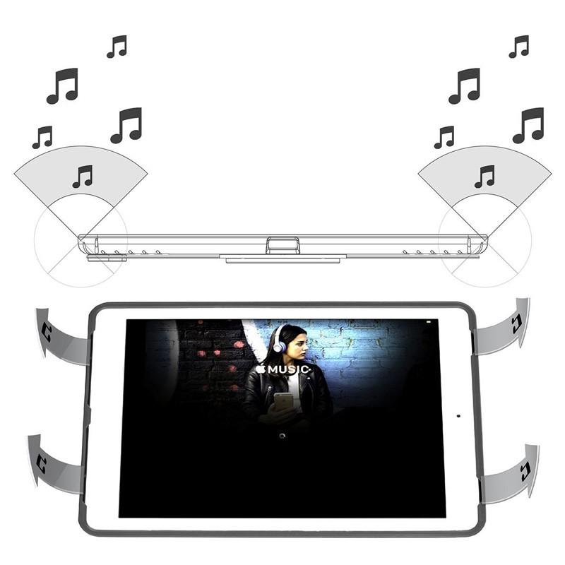 Targus - Click-In Case iPad (2017), iPad Pro 9,7, iPad Air 2 en iPad Air Grey 08