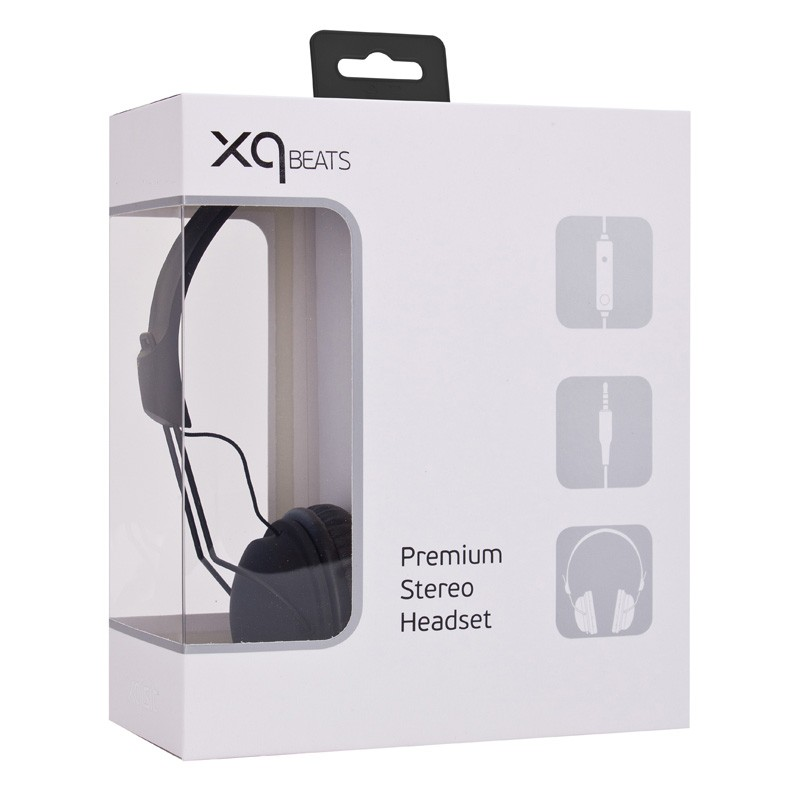 Xqisit HS Over-Ear Headset Black - 3