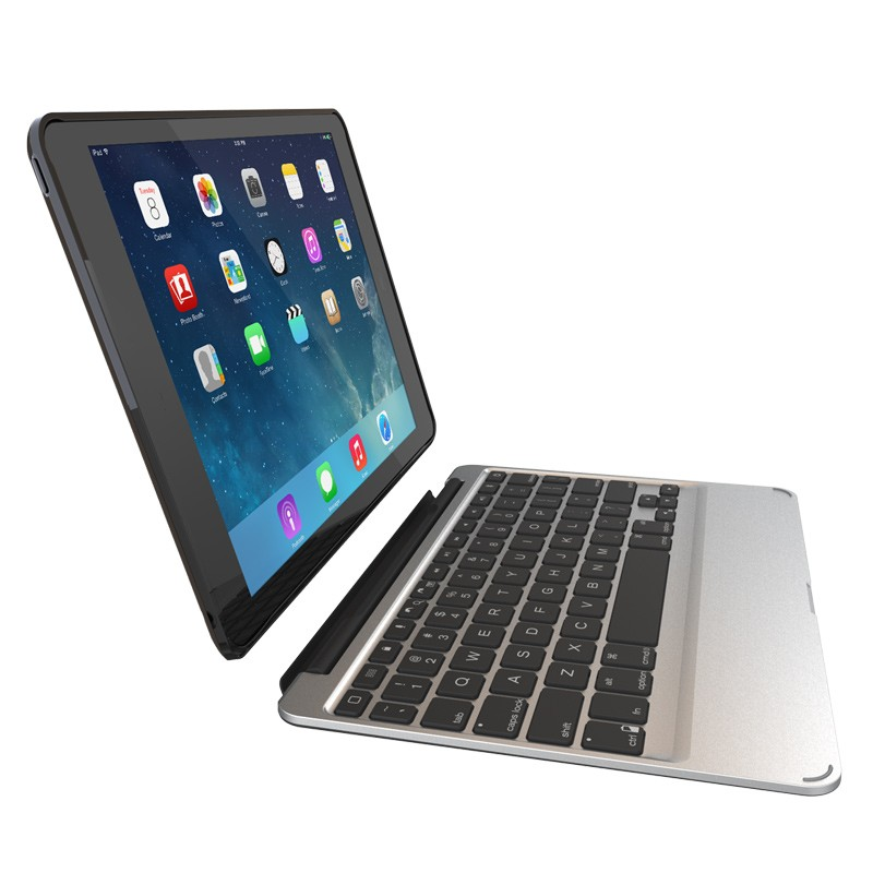ZAGG - Slim Book Case Keyboard iPad Air 2 08