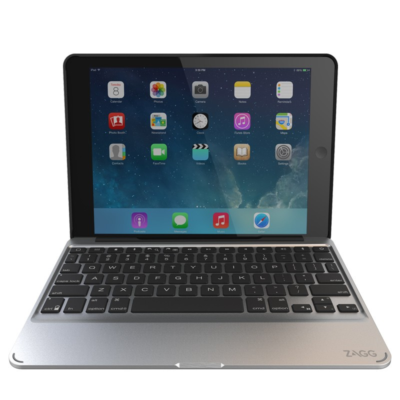 ZAGG - Slim Book Case Keyboard iPad Air 2 04