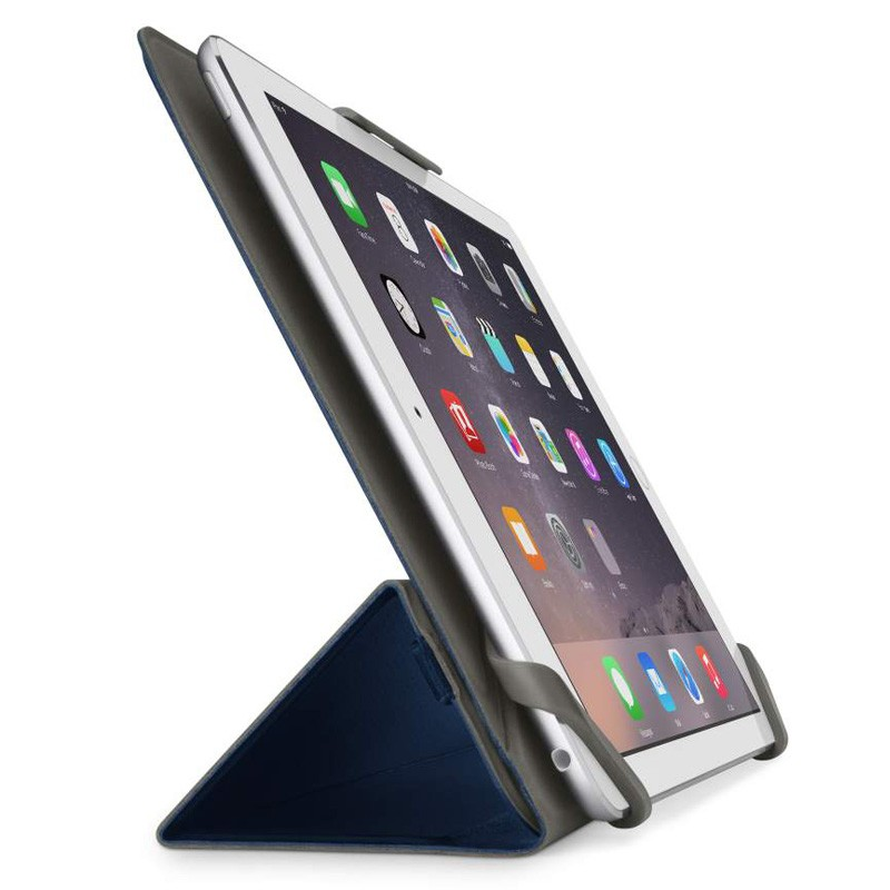 Belkin Twin Stripe Folio iPad mini 4 Blue  - 3