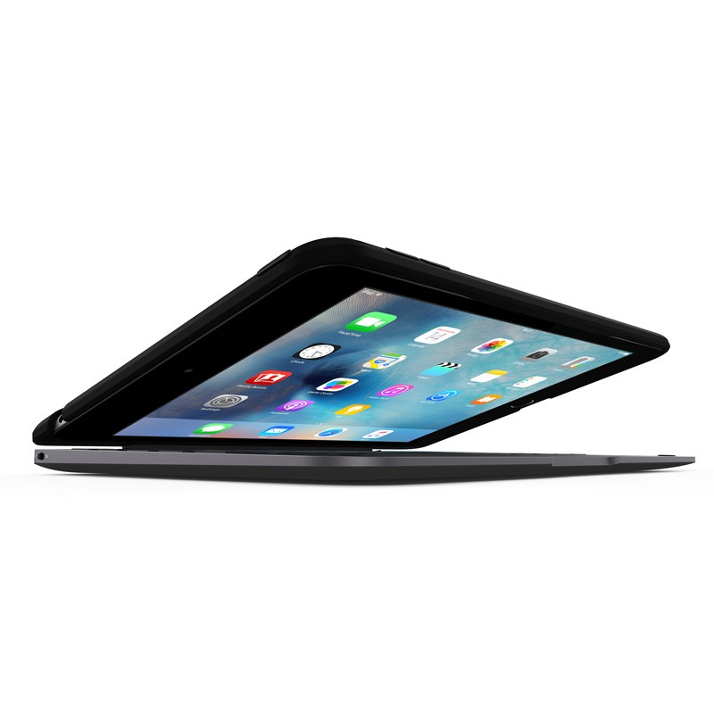 ClamCase Pro Keyboard Case iPad mini 4 Black/Smoke - 3