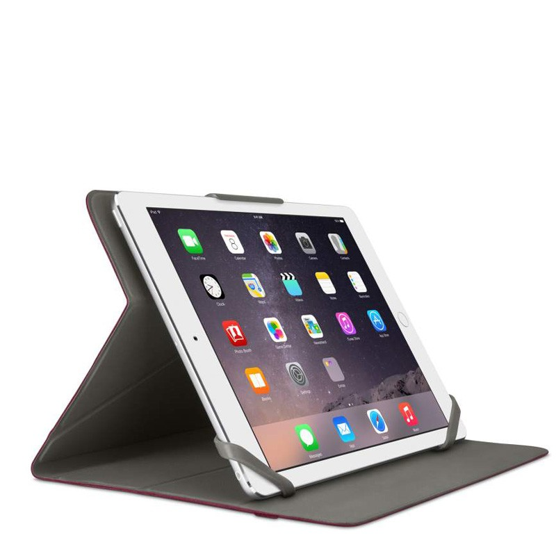 Belkin Twin Stripe Folio iPad mini 4 Maroon Red - 3