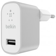 Belkin - Mixit Metallic Wandoplader Universeel 2,4A Silver 01