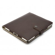 Booq Booqpad iPad 3 Leather Coffee/cream - 1