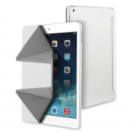 Muvit Butterfly Stand Case iPad Air 2 White - 1