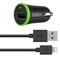 Belkin 2.1A Autolader met Lightning Cable black - 1