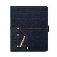 Diesel - Folio Case iPad 2 (Denim Blue Indigo) 01