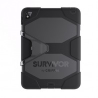 Griffin Survivor All Terrain Case iPad 9,7 inch 2017 Zwart - 1