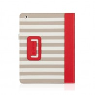 Griffin Folio Cabana iPad Red - 1