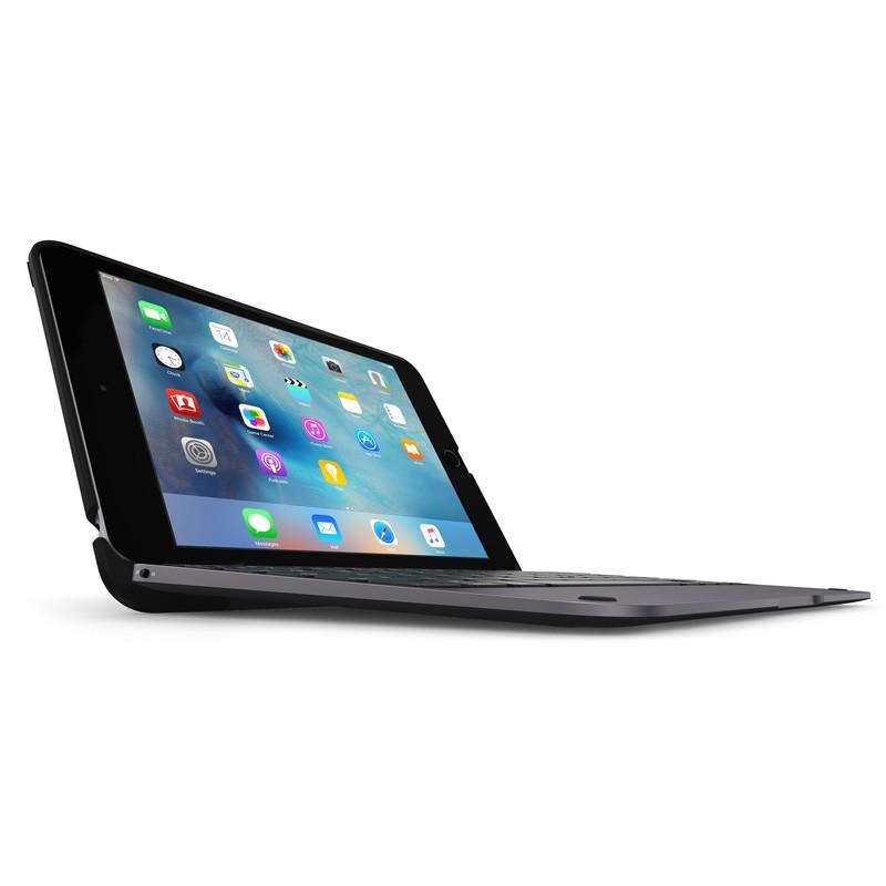 ClamCase Pro Keyboard Case iPad mini 4 Black/Smoke - 1
