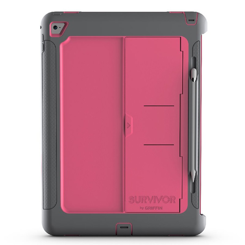 Griffin Survivor Slim Case iPad Pro 12.9 Pink 03