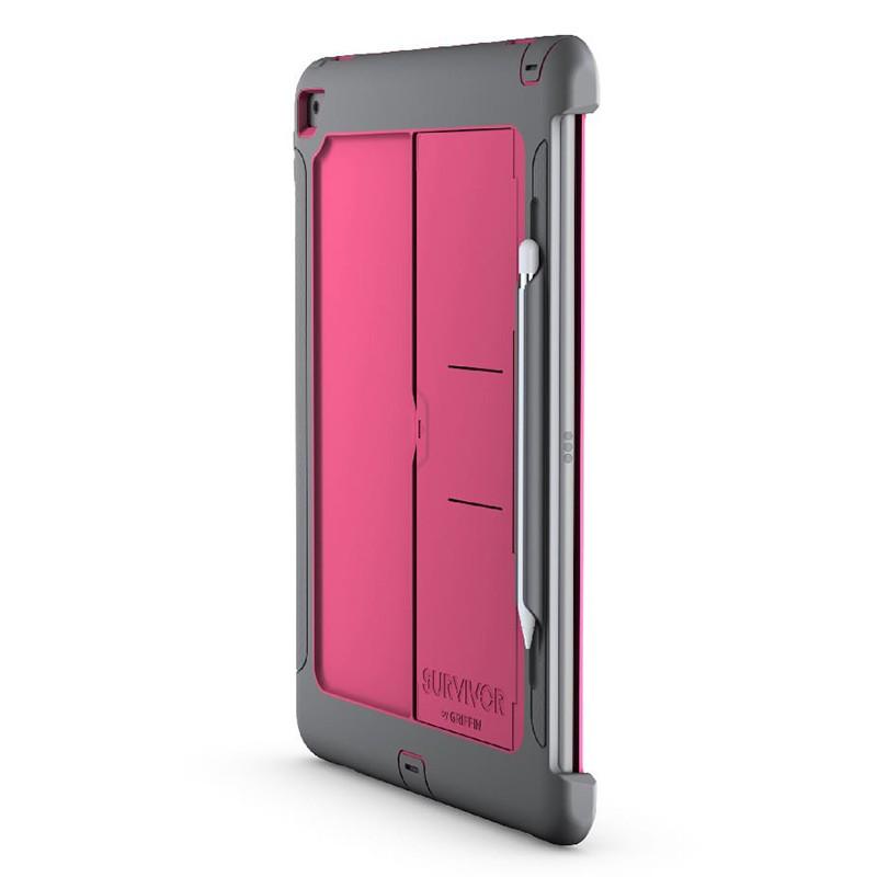 Griffin Survivor Slim Case iPad Pro 12.9 Pink 01