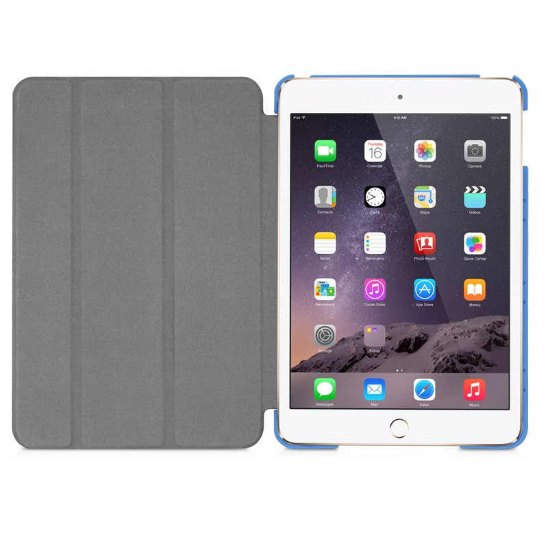 Macally Bookstand iPad mini 4 Blue - 5