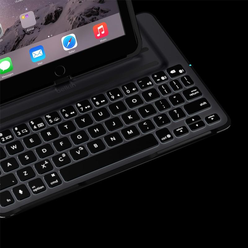 Belkin Ultimate Keyboard Case Pro iPad Air Black - 7