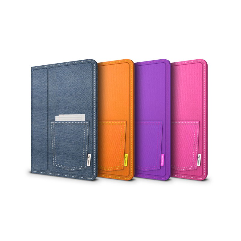 Xtrememac Micro Folio Denim iPad mini Pink - 5