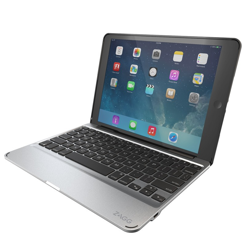 ZAGG - Slim Book Case Keyboard iPad Air 2 05