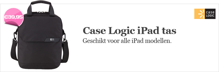 Case Logic iPad tassen